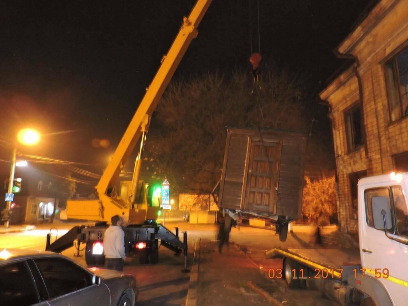В Николаеве коммунальщики демонтировали незаконные конструкции, - ФОТО, фото-1