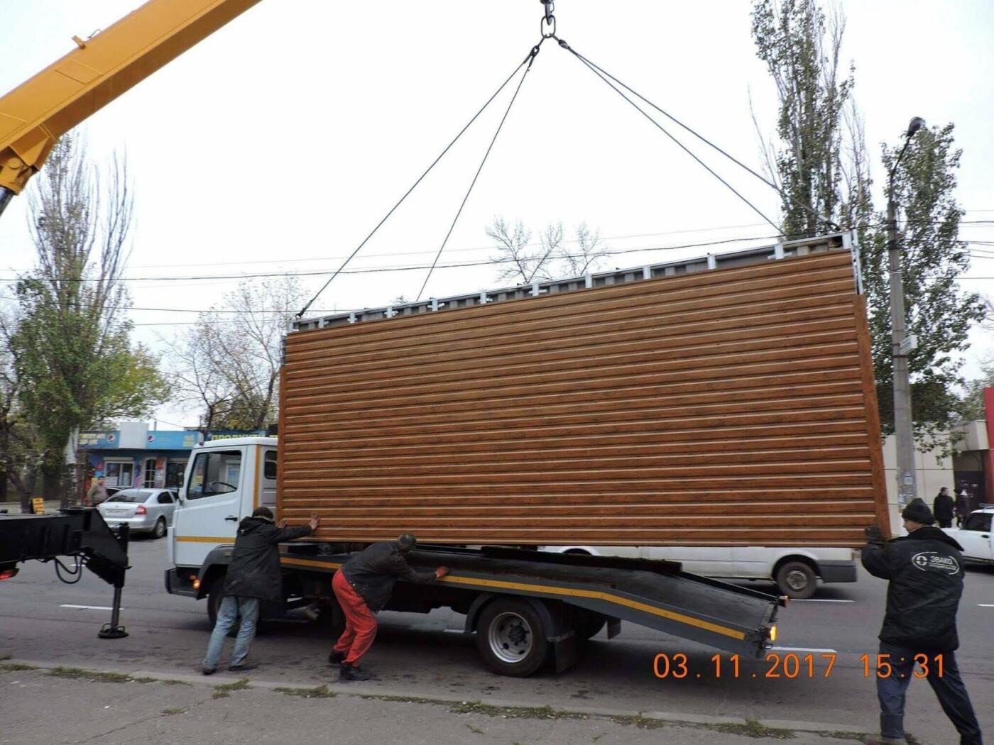 В Николаеве коммунальщики демонтировали незаконные конструкции, - ФОТО, фото-4