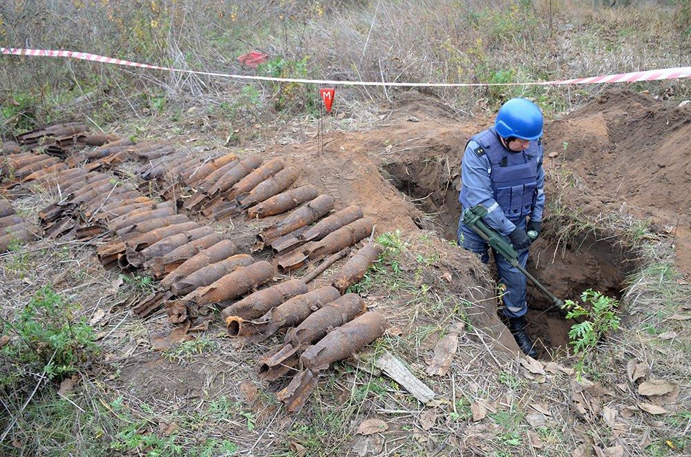 В селе на Николаевщине случайно обнаружили 63 авиабомбы, - ФОТО, фото-4