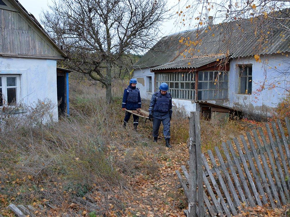 В селе на Николаевщине случайно обнаружили 63 авиабомбы, - ФОТО, фото-6