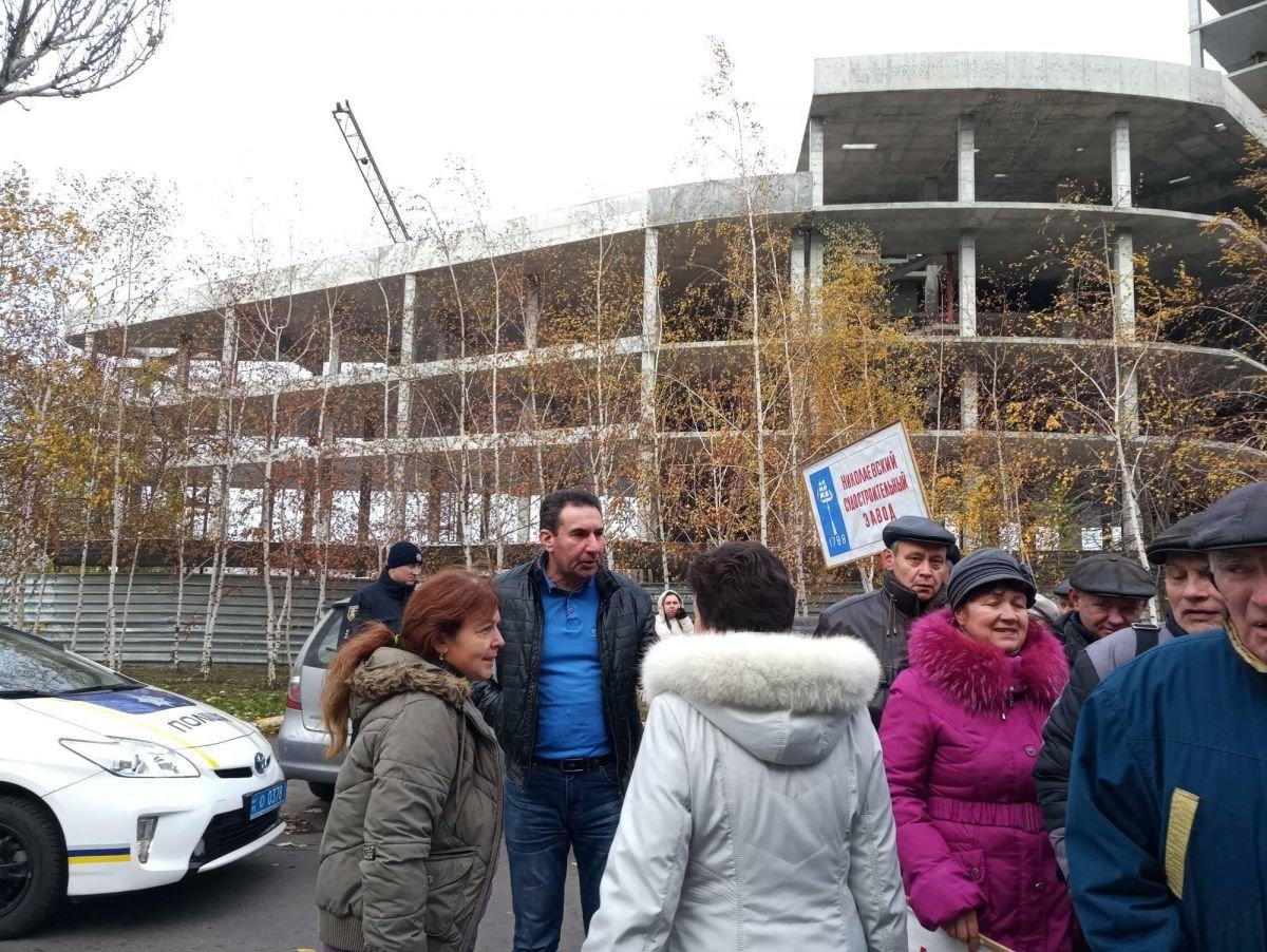 В Николаеве сотрудники судостроительного завода перекрыли Варваровский мост, ФОТО, фото-4