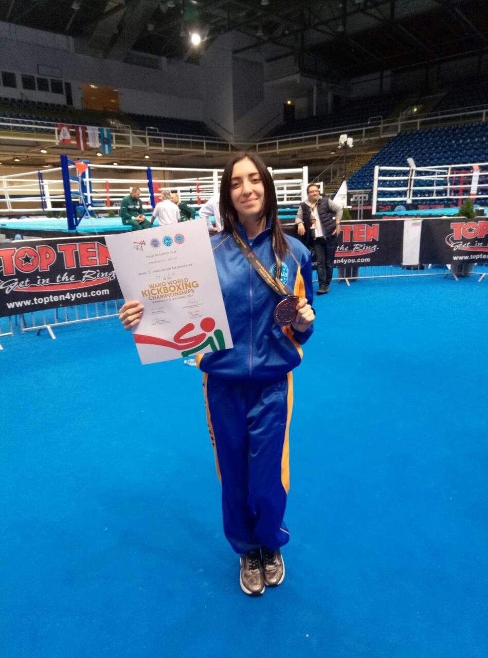 Воспитанница ДЮСШ №5 завоевала «бронзовую» медаль на Чемпионате мира по кикбоксингу (ФОТО), фото-1