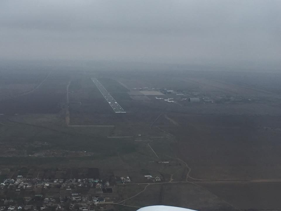В сети опубликованы фото взлетной полосы Николаевского аэропорта с высоты птичьего полета, - ФОТО, фото-1