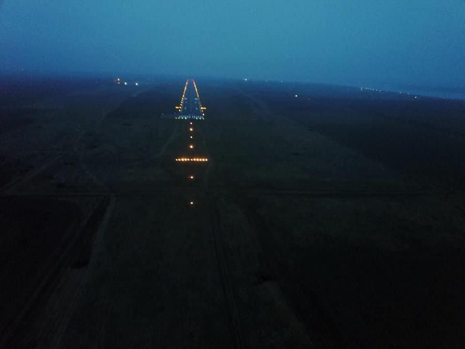В сети опубликованы фото взлетной полосы Николаевского аэропорта с высоты птичьего полета, - ФОТО, фото-5