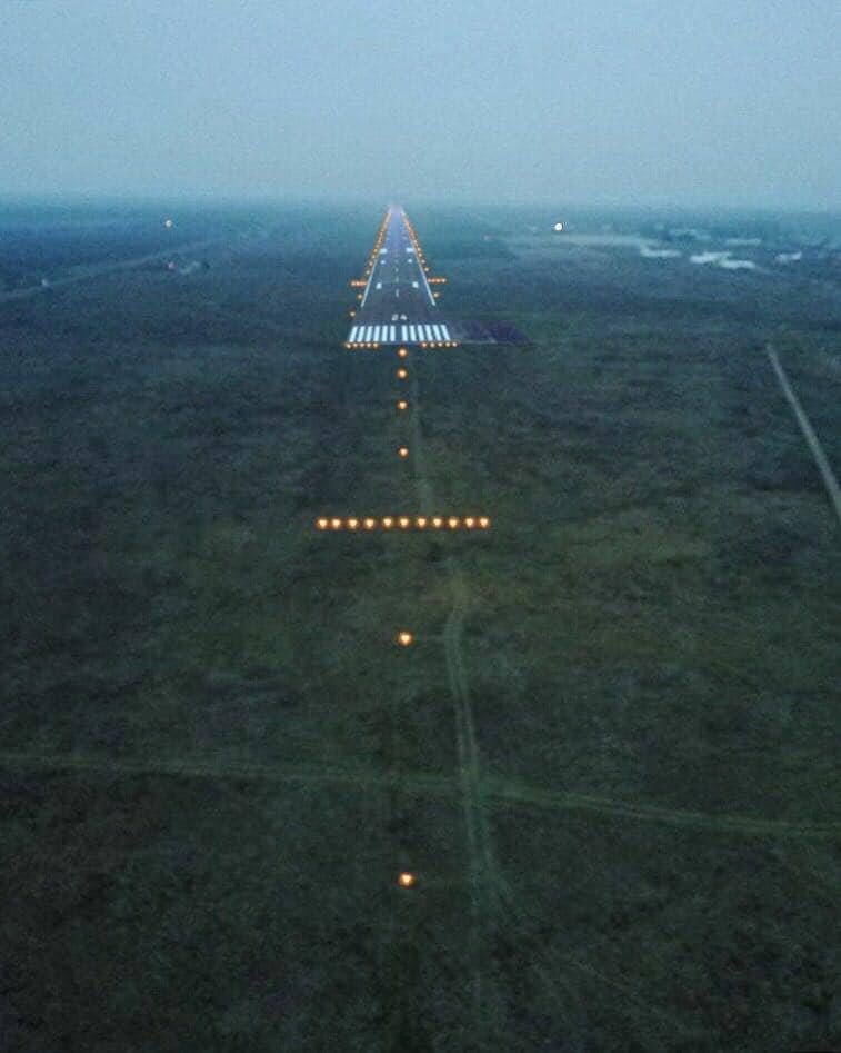 В сети опубликованы фото взлетной полосы Николаевского аэропорта с высоты птичьего полета, - ФОТО, фото-6