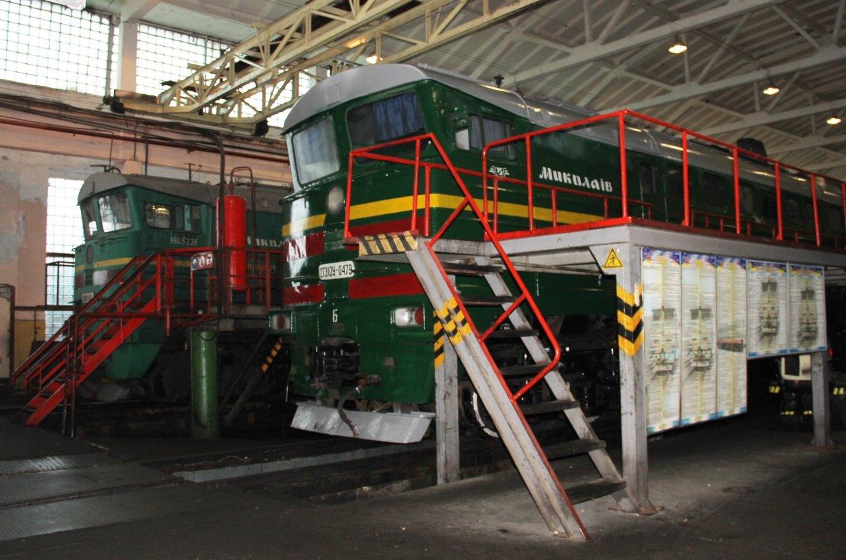 Директор Одесской железной дороги приехал с проверкой в локомотивное депо Николаева, - ФОТО, фото-1