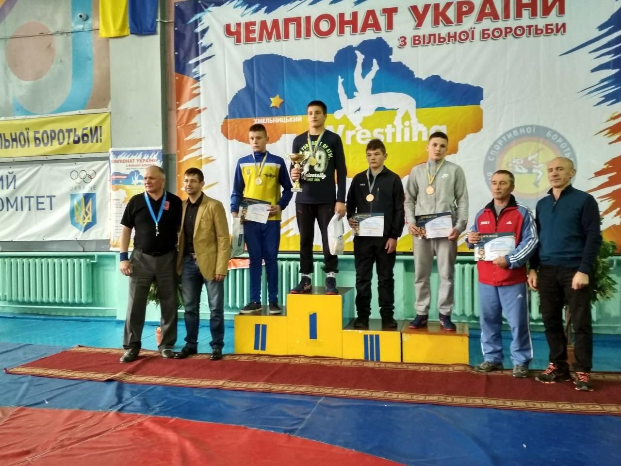 Воспитанники Николаевской ДЮСШ № 7 завоевали призовые места на чемпионате Украины по вольной борьбе, фото-3