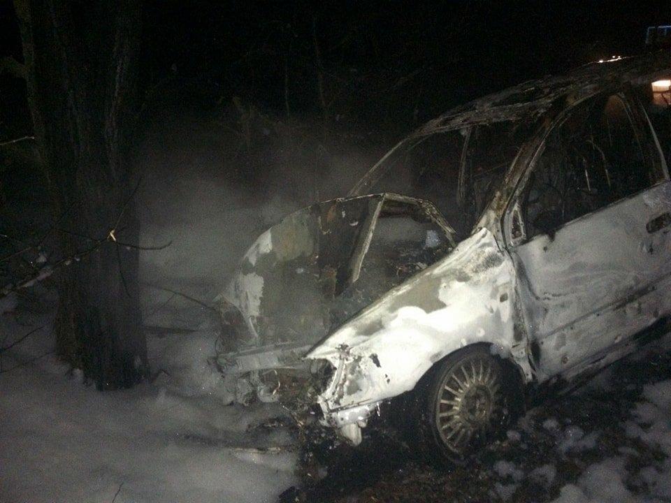 На Николаевщине в результате ДТП дотла сгорела Тoyota, - ФОТО, фото-1