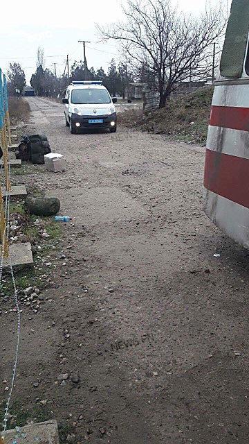 «Теплая встреча», – вернувшихся из зоны АТО бойцов «Святого Николаева» обыскивают оперативники ВБ и кинологи с собаками, ФОТО, фото-5
