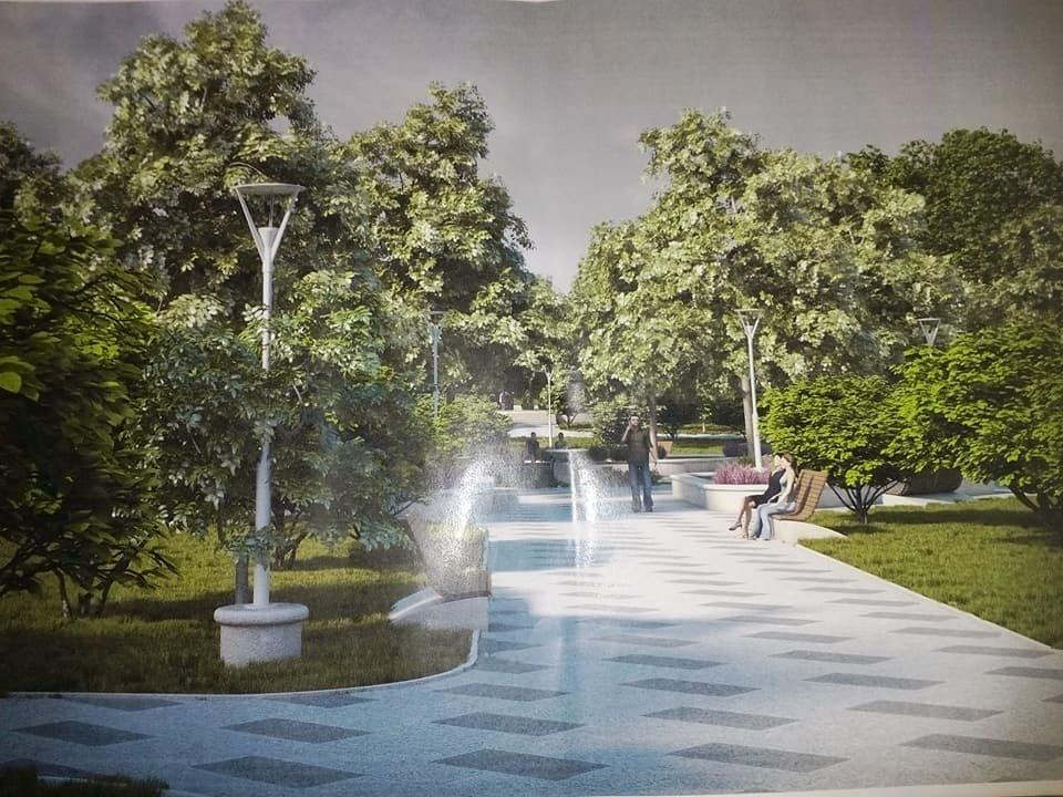 В Николаеве показали, как будет выглядеть сквер у речвокзала, - ФОТО, фото-1