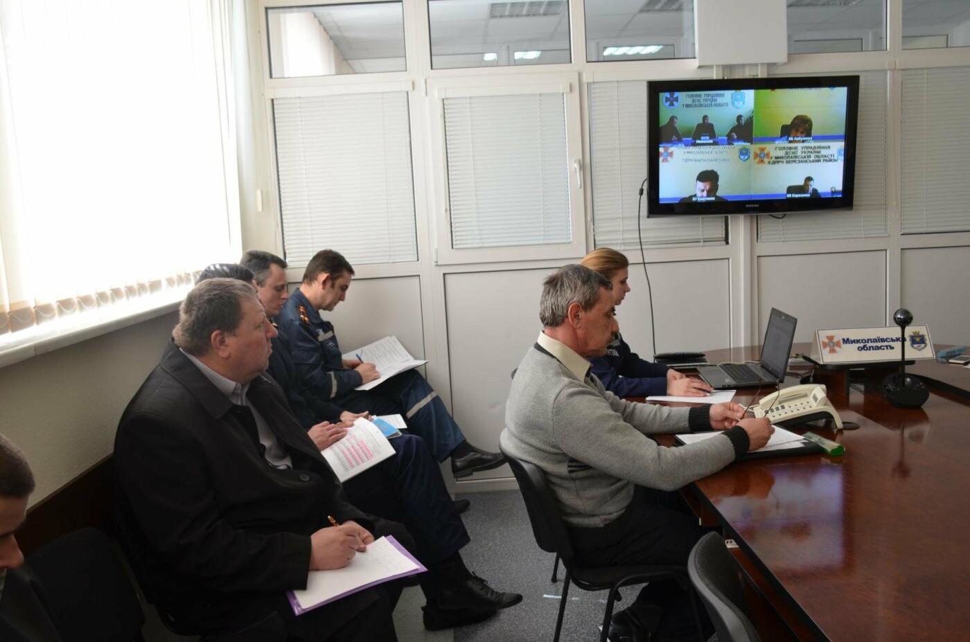 Николаевские спасатели обсудили безопасность торговых центров, лесов и церквей, - ФОТО, фото-2