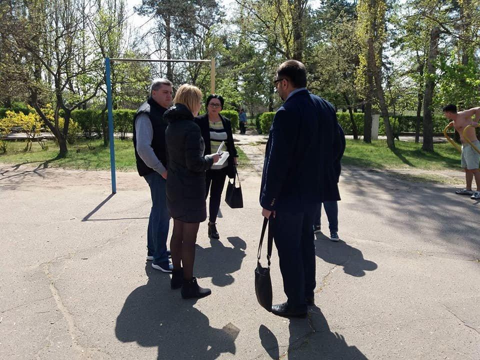 Первая в Николаеве инклюзивная спортплощадка вскоре появится в парке Лески, - ФОТО, фото-1