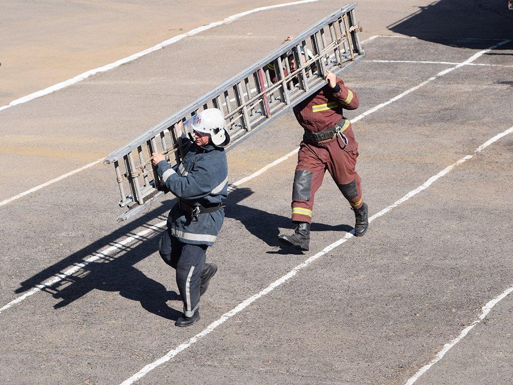 На николаевщине прошел первый этап соревнований среди спасателей, - ФОТО, фото-4