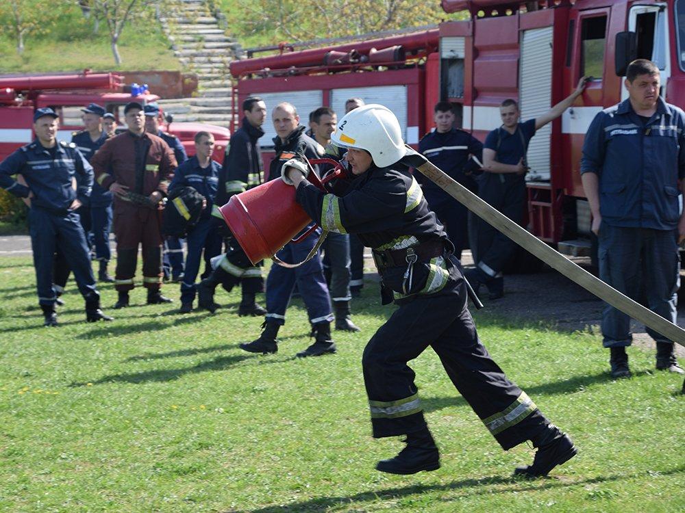 На николаевщине прошел первый этап соревнований среди спасателей, - ФОТО, фото-5