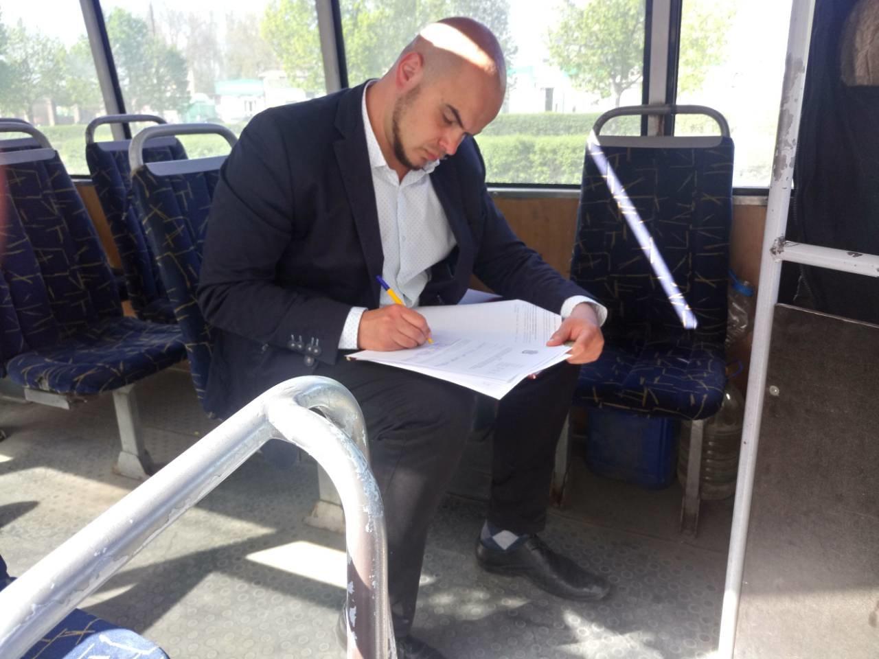 В Николаеве продолжаются проверки качества перевозки пассажиров: проинспектировали автобусные маршруты №3 и №91, фото-4