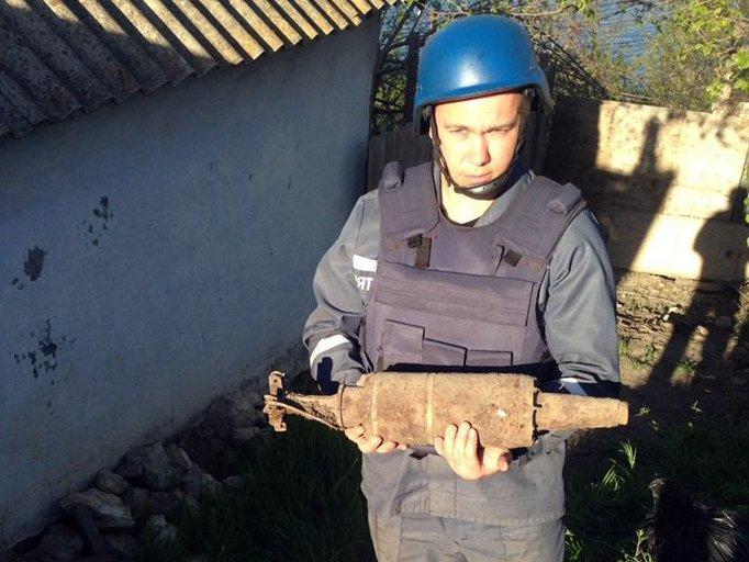 В Николаеве нашли мину, - ФОТО, фото-1