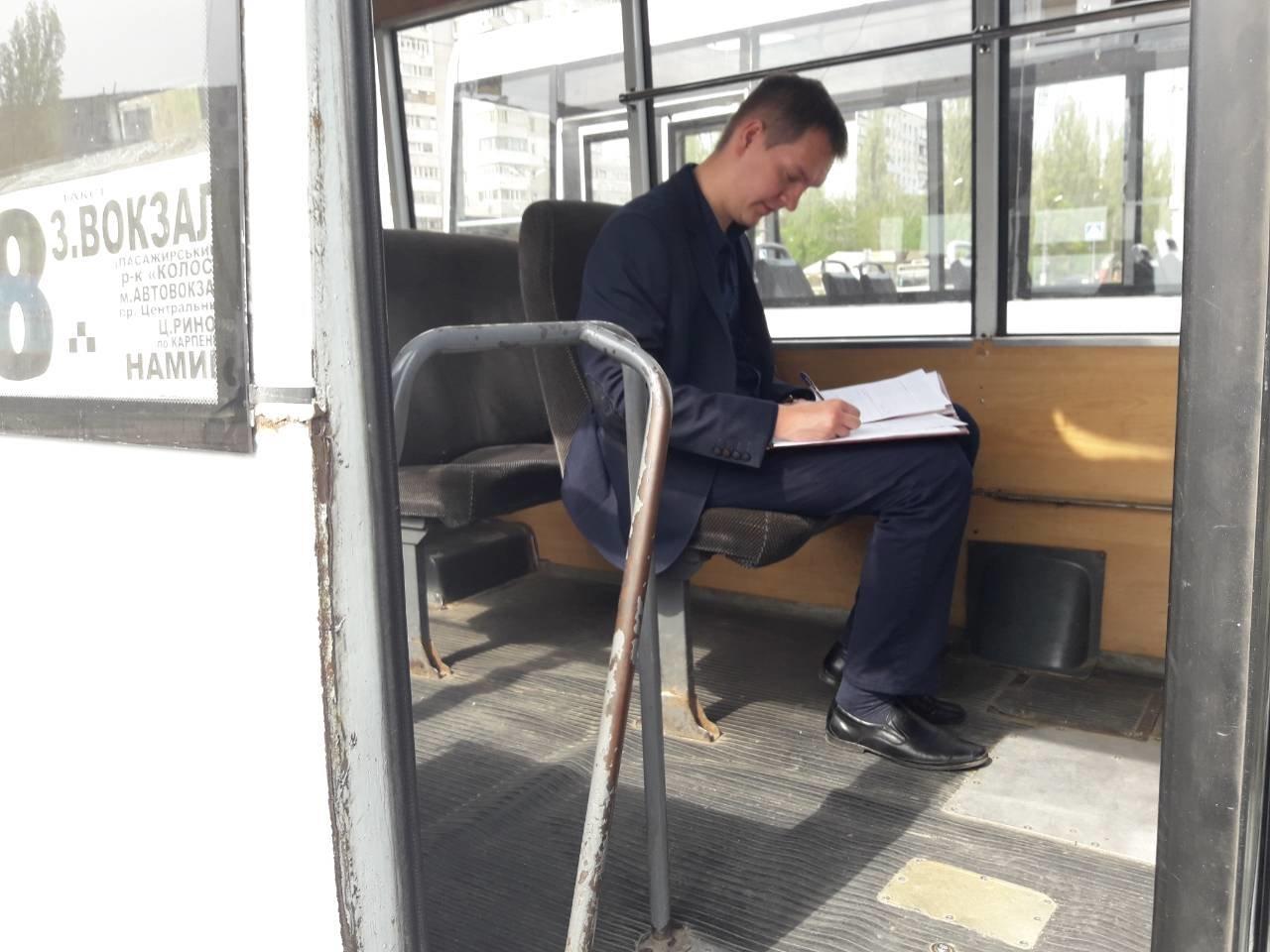 Комиссия составила 6 актов о нарушении при проверке николаевских маршрутов № 8 и 50, - ФОТО, фото-8