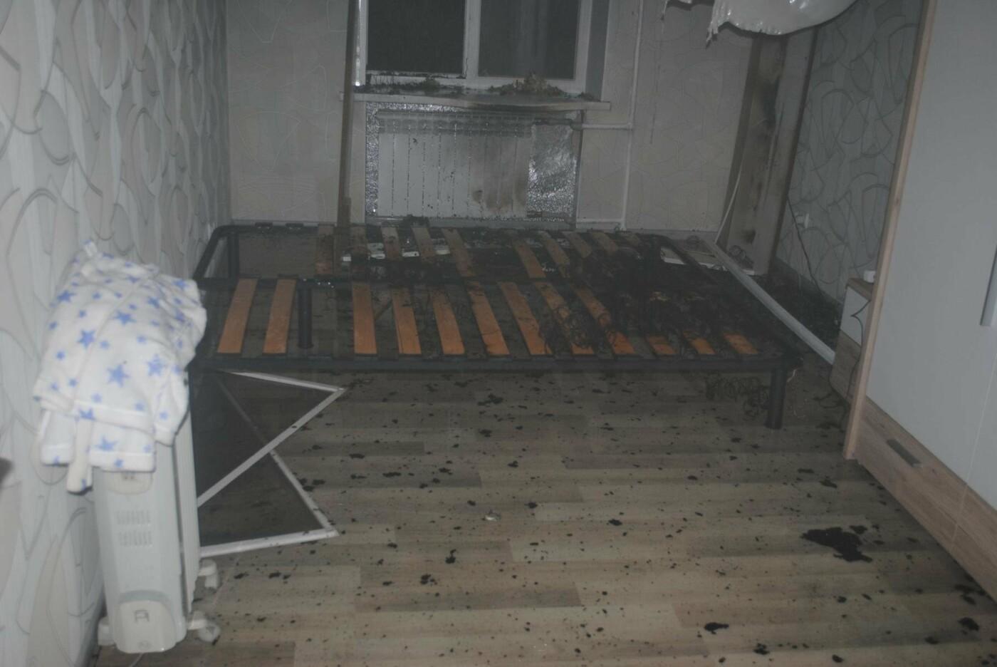 В Николаеве горела квартира с мужчиной, - ФОТО , фото-1