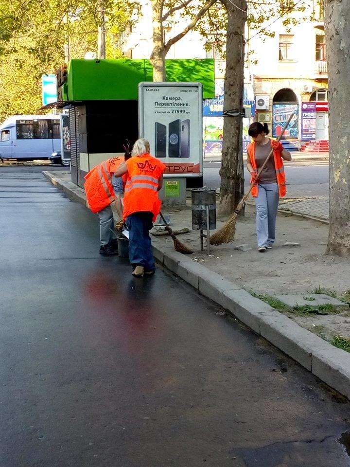 Администрация Центрального района наводит порядок на ул. Соборной, - ФОТО, фото-2