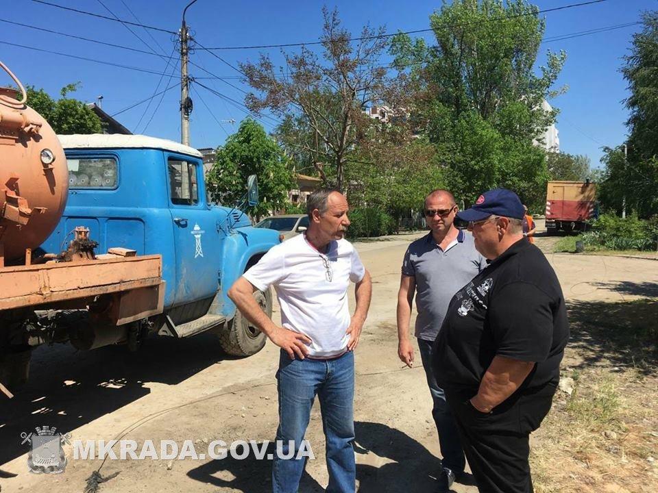 Аварийные службы будут работать без отдыха, чтобы стоки не подтопили дома николаевцев, - вице-мэр Юрий Степанец, - ФОТО, фото-2
