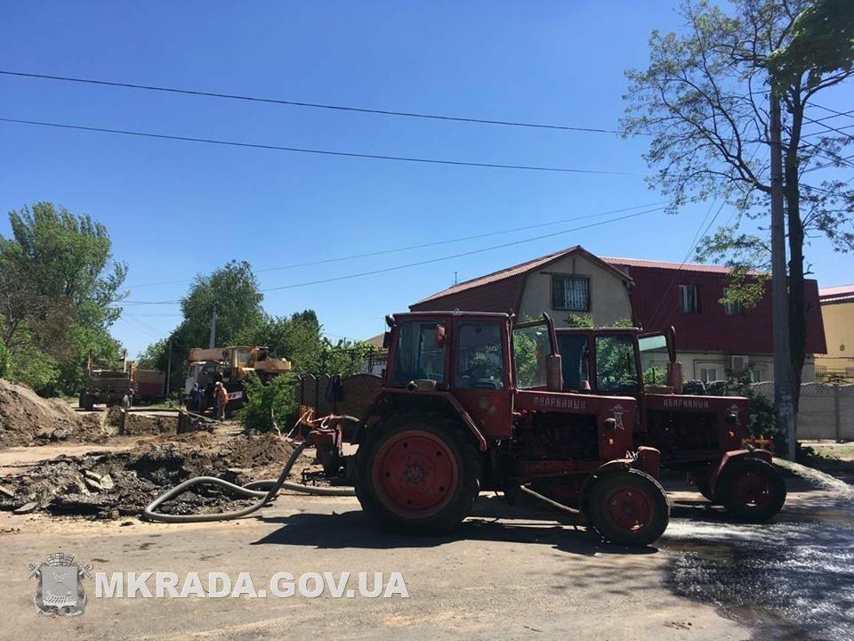 Аварийные службы будут работать без отдыха, чтобы стоки не подтопили дома николаевцев, - вице-мэр Юрий Степанец, - ФОТО, фото-3