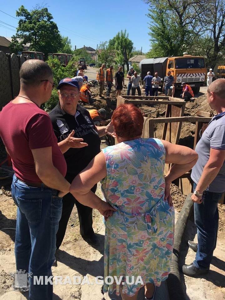 Аварийные службы будут работать без отдыха, чтобы стоки не подтопили дома николаевцев, - вице-мэр Юрий Степанец, - ФОТО, фото-8