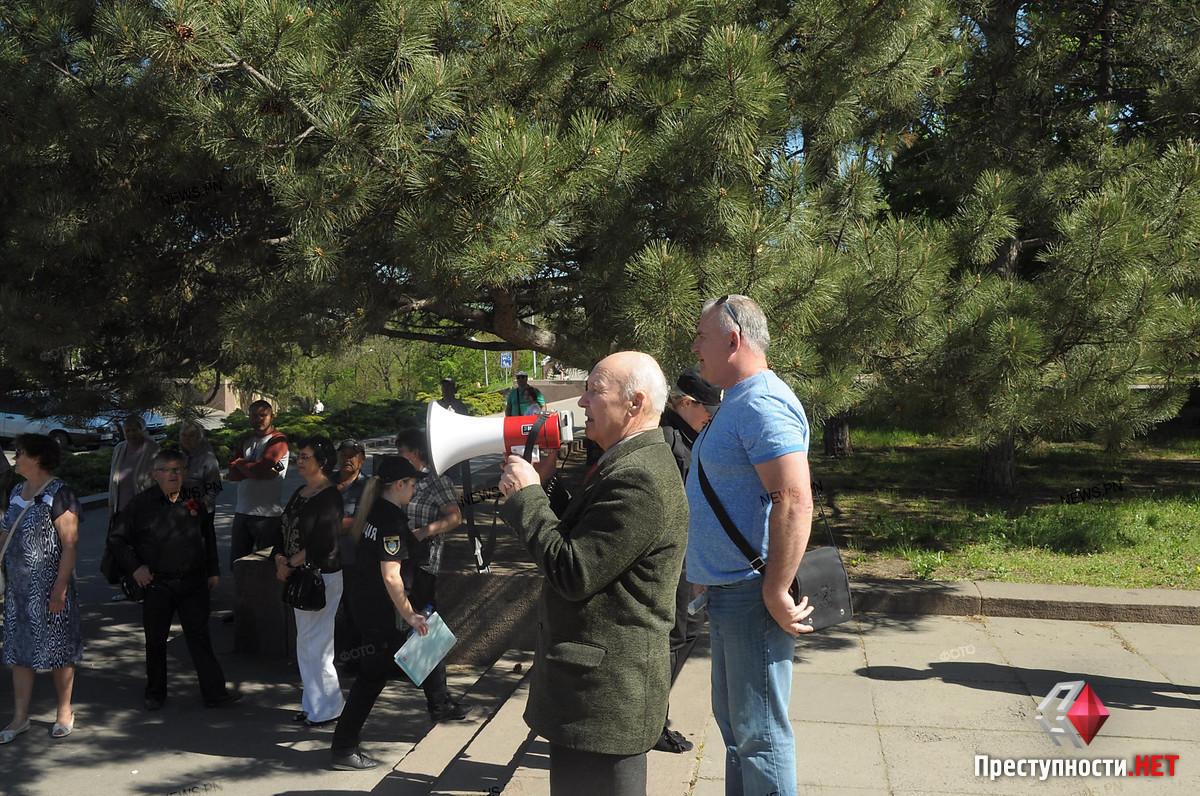 В Николаеве неизвестные облили зеленкой организатора марша к первому мая, - ФОТО, фото-6
