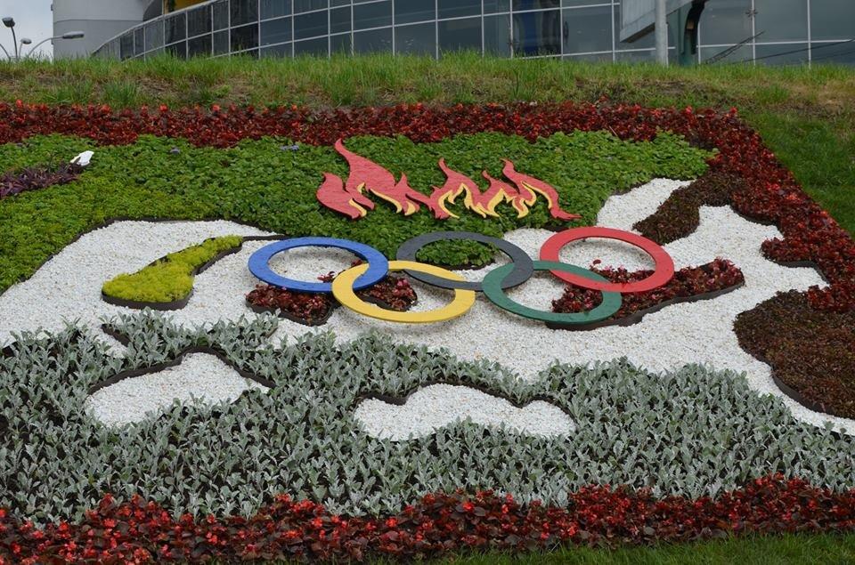 В Киеве открыли клумбу «Олимпийское золото» в честь Николаевского чемпиона по фристайлу Александра Абраменко, - ФОТО, фото-4