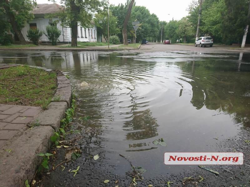 Центр Николаева снова заливает фекальными водами, - ФОТО, ВИДЕО, фото-5