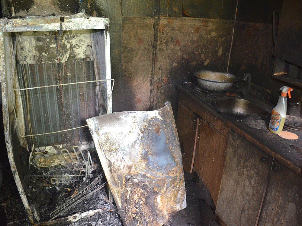 В Николаеве короткое замыкание стало причиной пожара, - ФОТО , фото-3