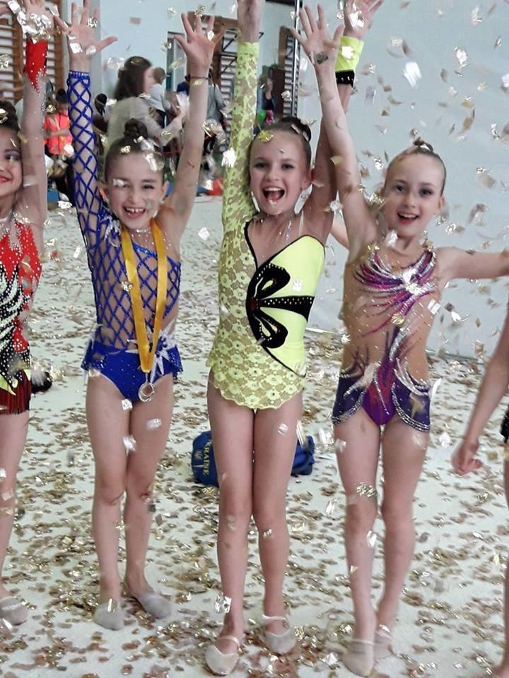 Маленькие Николаевские гимнастки привезли домой уйму медалей со Всеукраинского турнира, - ФОТО, фото-4