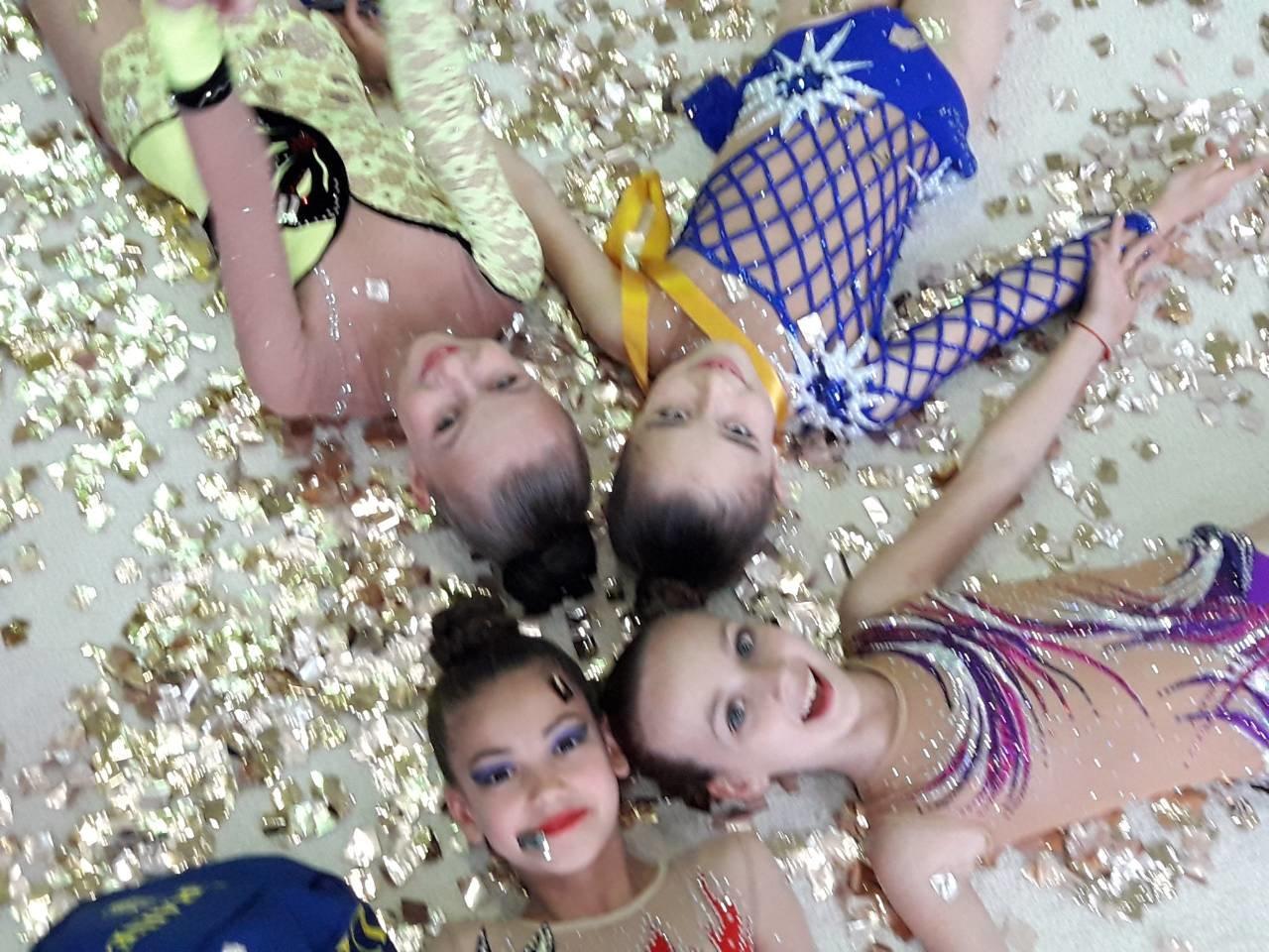 Маленькие Николаевские гимнастки привезли домой уйму медалей со Всеукраинского турнира, - ФОТО, фото-5