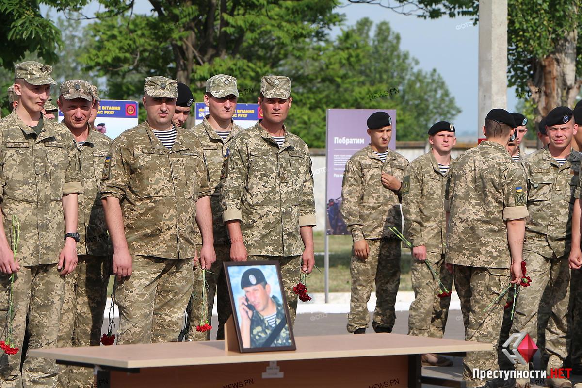 В Николаеве провели в последний путь офицера морской пехоты Александра Конотопенко, - ФОТО, фото-9