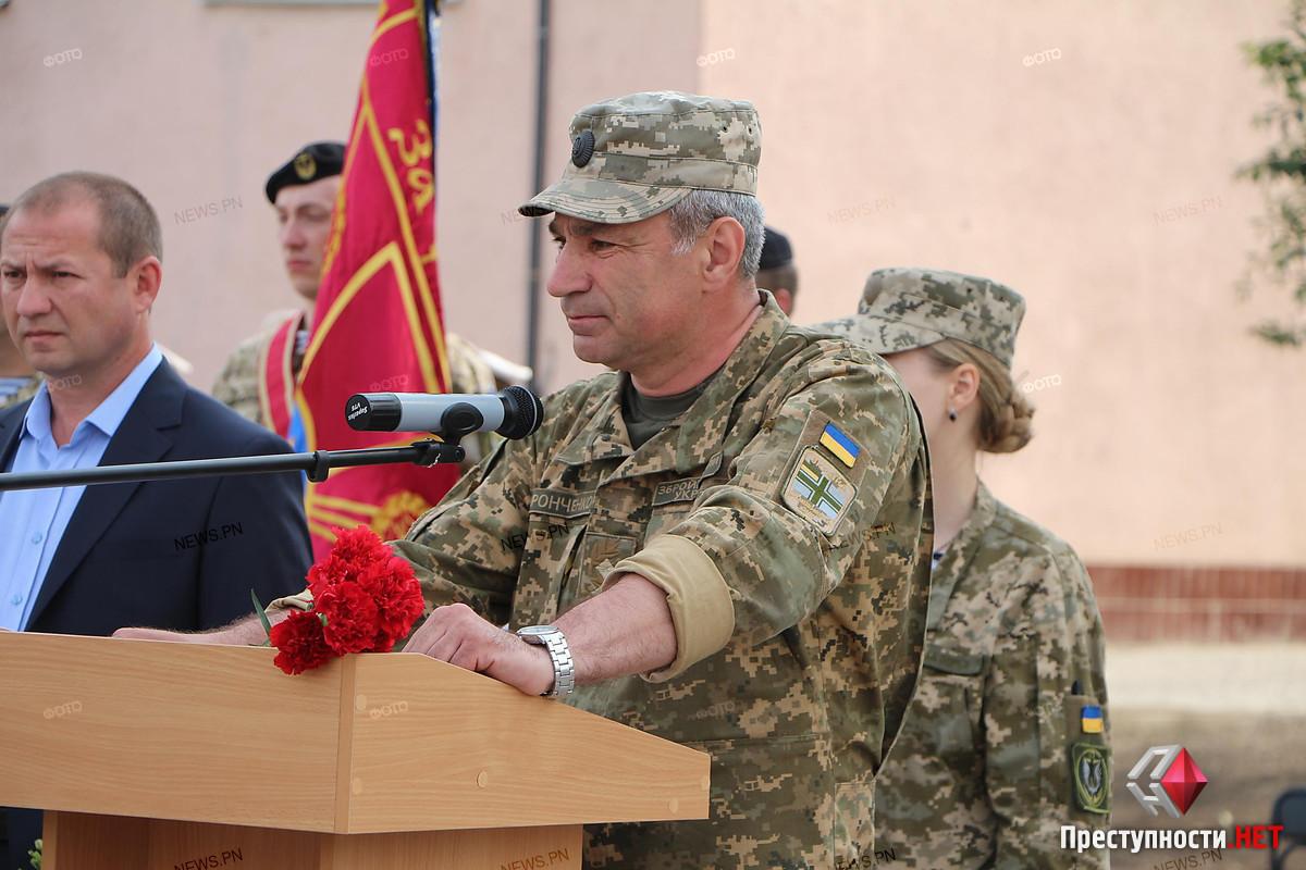 В Николаеве провели в последний путь офицера морской пехоты Александра Конотопенко, - ФОТО, фото-2