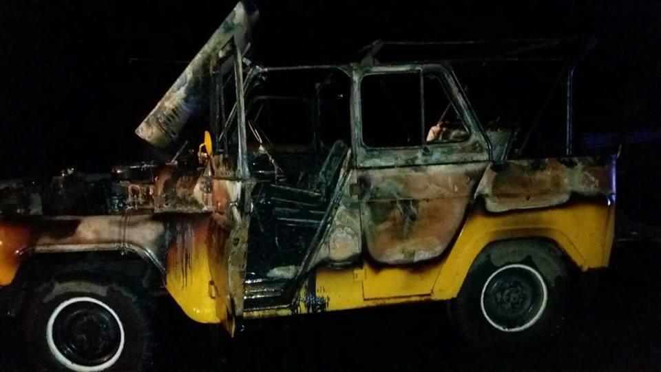 Под Николаевом после лобового столкновения горел автомобиль, - ФОТО, фото-2