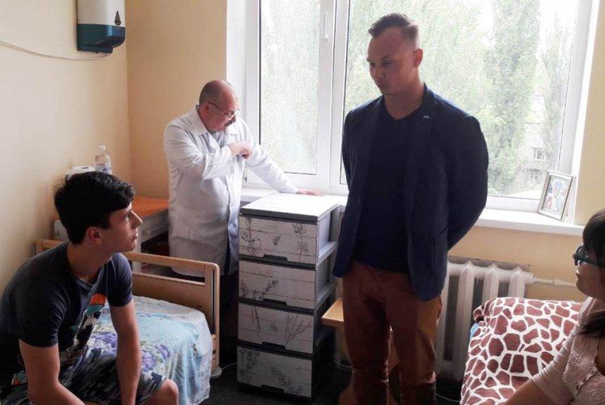 Николаевский чемпион Александр Абраменко помог онкобольным детям , фото-2