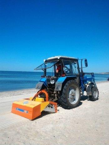 В Очакове идет подготовка к пляжному сезону, - ФОТО, фото-1