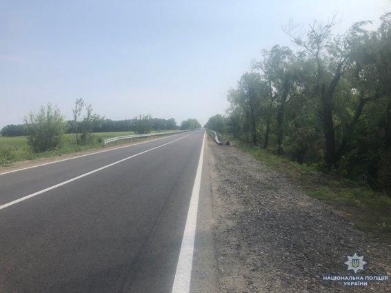 На Николаевщине двое парней пытались украсть дорожный отбойник, - ФОТО , фото-1