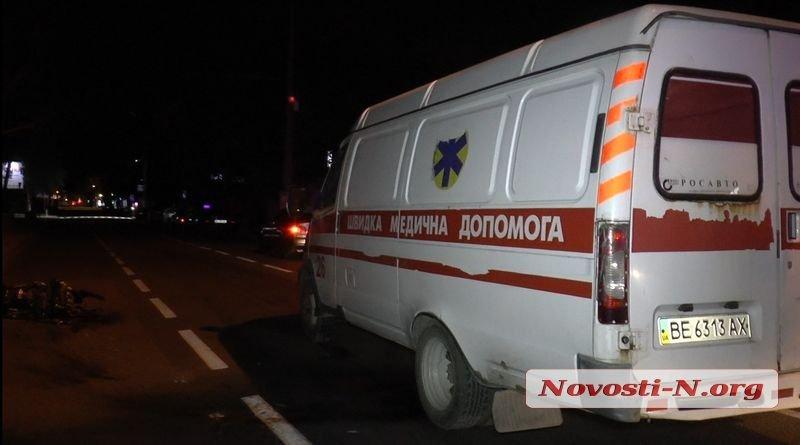 Ночью в Николаеве мотоциклист скрываясь от полиции врезался в столб, - ФОТО, фото-4