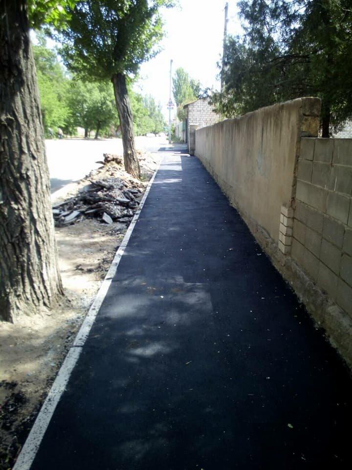 В Николаеве на улице Чкалова отремонтировали тротуар, - ФОТО, фото-3