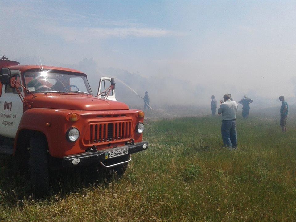 За прошедшие сутки в Николаевской области прошло шесть пожаров, - ФОТО, фото-2