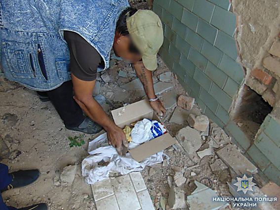 На Николаевщине нашли тайник с боеприпасами, - ФОТО , фото-1