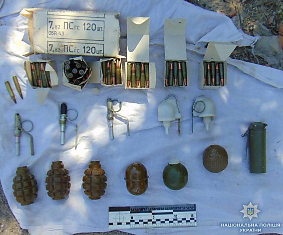 На Николаевщине нашли тайник с боеприпасами, - ФОТО , фото-2