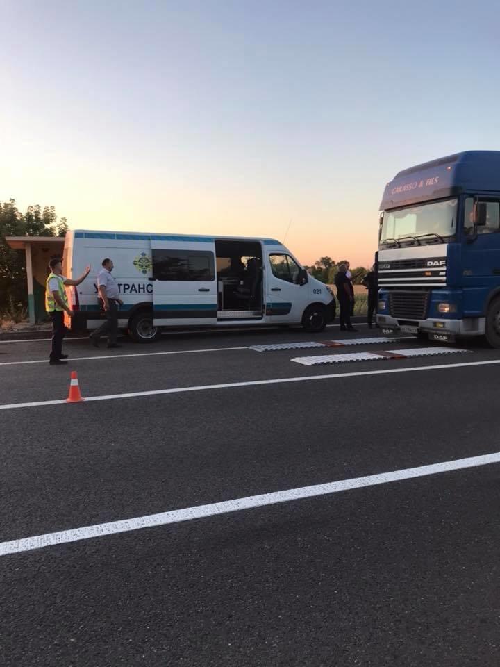 На Николаевщине остановили фуру с 17-тонным перегрузом, - ФОТО , фото-2