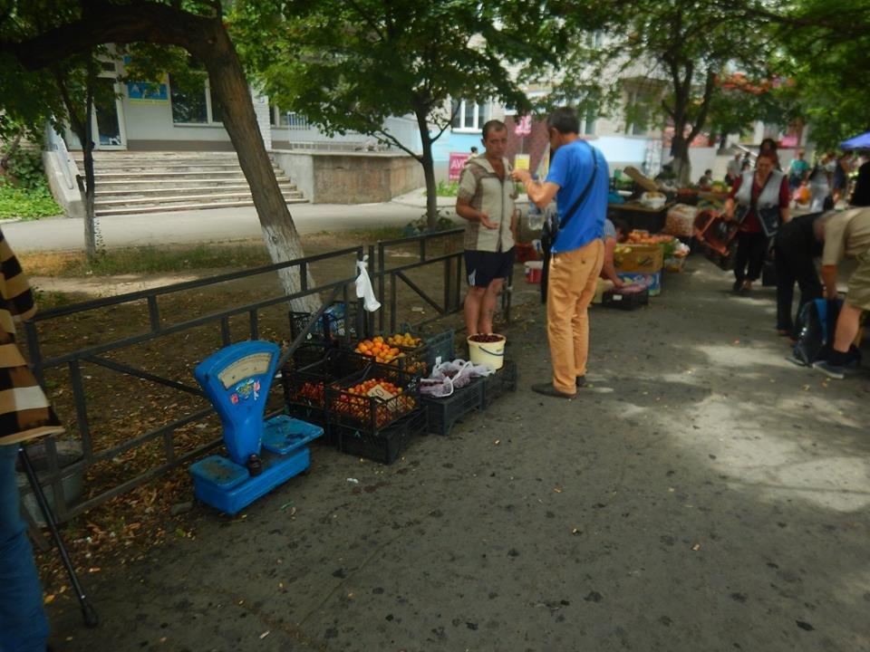 В Николаеве опять борются со стихийными рынками, -ФОТО, фото-1
