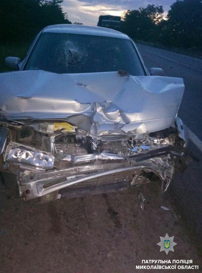 На Николаевщине из-за превышения скорости произошло ДТП, - ФОТО, фото-1