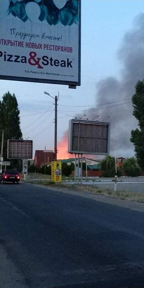 Жители и отдыхающие Коблево испугались масштабного пожара, - ФОТО, фото-1