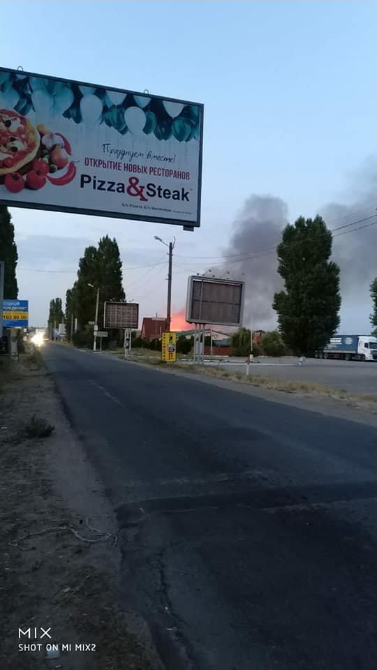 Жители и отдыхающие Коблево испугались масштабного пожара, - ФОТО, фото-2