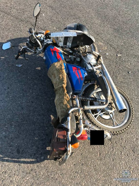 В Николаевской области столкнулись иномарка и мотоцикл: мотоциклист госпитализирован, - ФОТО, фото-2