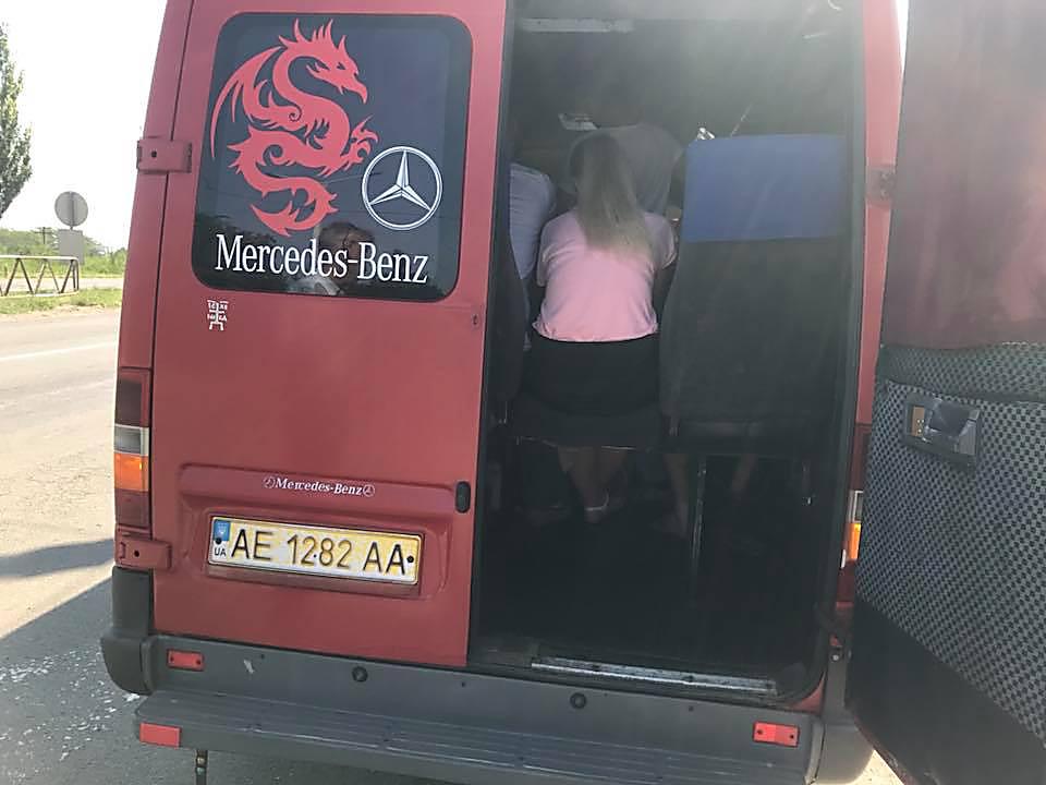 На Николаевщине пассажиры поссорились с инспекторами УТБ, которые проверяли транспорт, - ФОТО, фото-1
